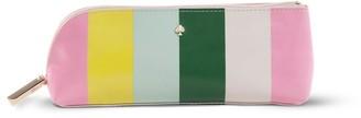 Kate Spade pencil case multi stripe