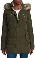 A.N.A a.n.a Microfiber Puffer Coat