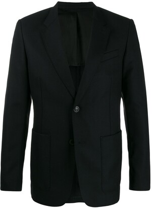 Ami Button Front Blazer
