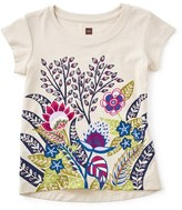 Tea Collection Floral Graphic Tee (Toddler Girls, Little Girls & Big Girls)