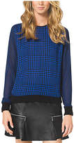 Michael Kors Houndstooth-Print Sweater