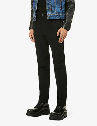 Moschino Mid-rise straight leg stretch-denim jeans