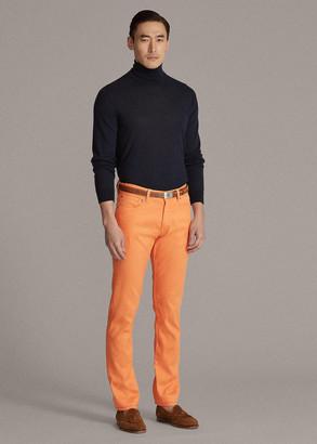 Ralph Lauren Slim Fit Linen-Cotton Stretch Jean
