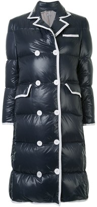 Thom Browne Double-Breasted Padded Coat