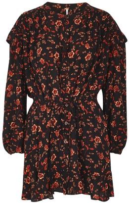 Free People Flower Fields floral-print mini dress