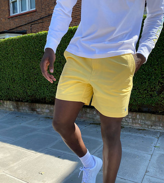 Polo Ralph Lauren x ASOS exclusive collab prepster short in yellow with logo