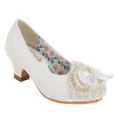 China Doll White Catuona Dress Shoe