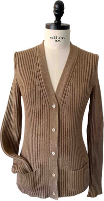 Gucci Gold Wool Knitwear