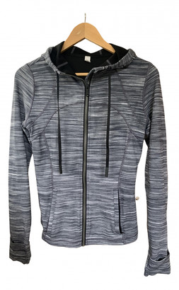 Lululemon Grey Cotton Jackets