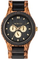 WeWood Men's Kappa Multifunctional Wood Bracelet Watch, 46Mm