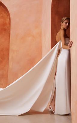 Rasario Bridal Satin Corset Gown