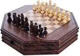 Octagonal Chess & Checkers Set