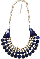 Arden B Double Stone & Bead Necklace