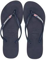 Havaianas Slim USA Sandal (Navy Blue) Women's Sandals