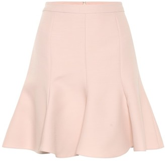 Stella McCartney Wool-blend miniskirt
