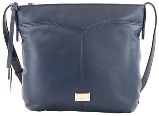 Cellini CLQ207 Fairview Zip Top Navy Crossbody Bag