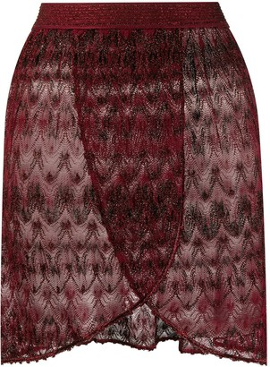 Missoni Mare Layered Sheer Beach Skirt