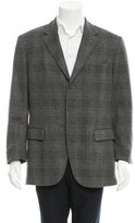 Loro Piana Three-Button Plaid Blazer
