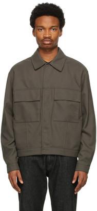 ermenegildo zegna couture Beige Recycled Nylon Jacket