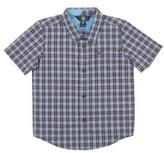 Volcom Toddler Boy's Harper Plaid Woven Shirt