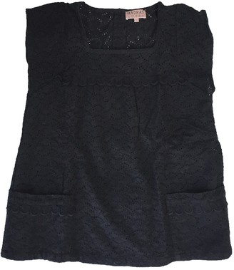 A.P.C. Madras By Black Cotton Top for Women