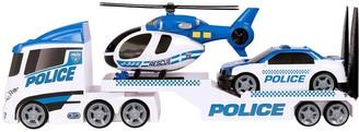 Teamsterz Light & Sound Police Helicopter Transporter