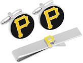 Cufflinks Inc. Men's Pittsburgh Pirates Cufflinks and Tie Bar Gift Set