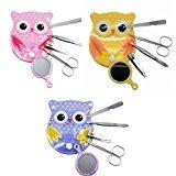 Spove Owl Design Personal Care Manicure Set 5 in 1 (3 Sets)
