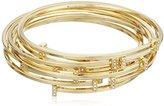 Vince Camuto Minimal Pave Gold/Crystal Bangle Bracelet