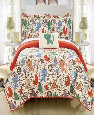 Chic Home Trixie 3 Piece Twin Quilt Set