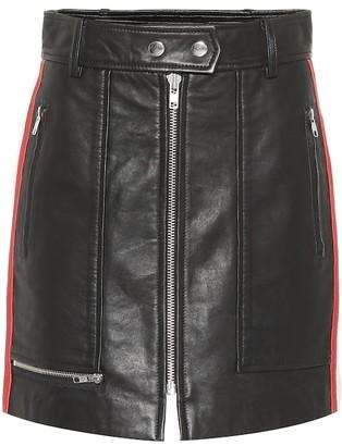 Etoile Isabel Marant Alynne leather skirt