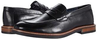 Ben Sherman Birk Penny Loafer (Black Leather) Men's Shoes