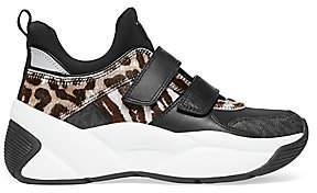 MICHAEL Michael Kors Women's Keeley Leopard-Print Calf Hair Sneakers