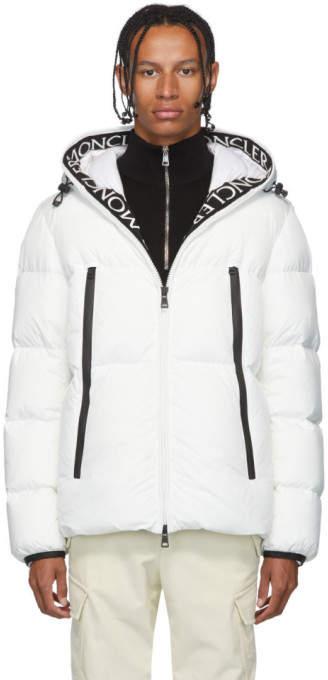 Moncler White Down Montcla Jacket