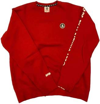 A Bathing Ape Red Cotton Knitwear