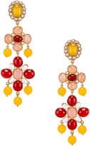 Christie Nicolaides Julietta Earrings in Yellow | FWRD