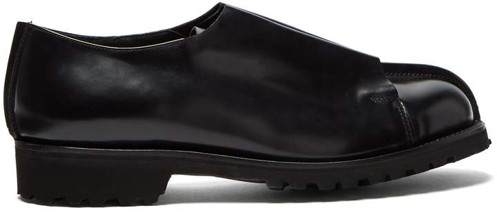 Grenson X Craig Green leather derby shoes