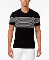 INC International Concepts Men's Introspection Striped T-Shirt, Created for Macy's