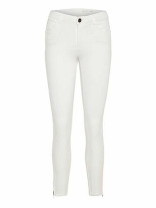 Noisy May Women's Nmkimmy Nr Ankle Zip Jeans Az063w Noos Slim