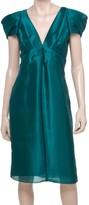 Max Studio Satin Organza Dress