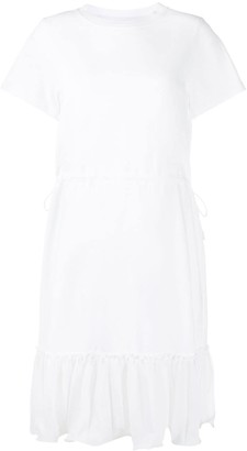 See by Chloe Ruffle-Trim Shift Dress