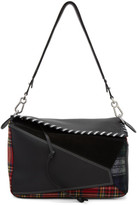 Loewe Red and Black Tartan Xl Puzzle Bag