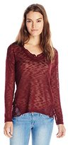 Jessica Simpson Women's Lane Hatchi Slub Sweater