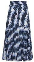 Sportmax Falena silk skirt