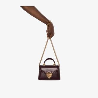 Dolce & Gabbana Devotion small crossbody leather bag