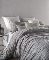 DKNY Loft Stripe Gray King Duvet Cover Bedding