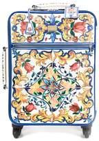 Dolce & Gabbana Majolica print trolley