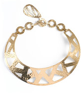 Josie Natori Geometric Gold Necklace