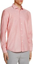 Billy Reid Murphy Microstripe Regular Fit Button Down Shirt