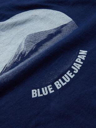 Blue Blue Japan Logo-Print Cotton-Jersey T-Shirt
